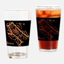 Gemini Star Chart Drinking Glass