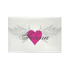 Selena-angel-wings.png Rectangle Magnet