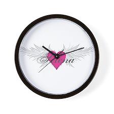 Selena-angel-wings.png Wall Clock