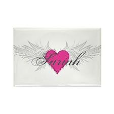Sariah-angel-wings.png Rectangle Magnet