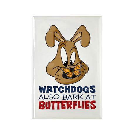 Watchdog Rectangle Magnet