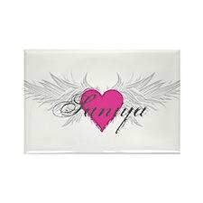 Saniya-angel-wings.png Rectangle Magnet