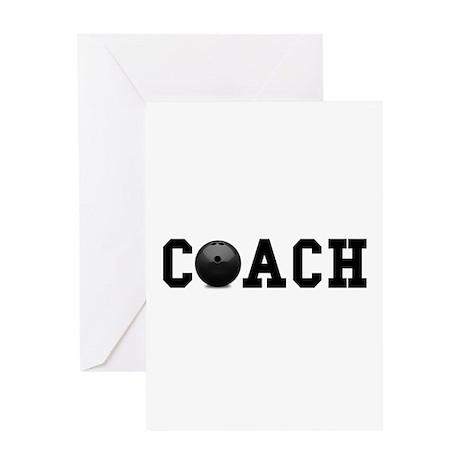 Bowling Coach Greeting Card