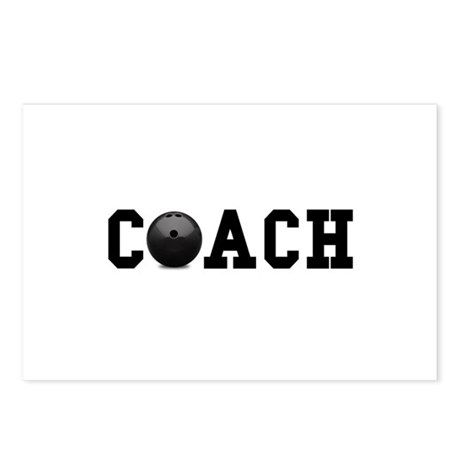 Bowling Coach Postcards (Package of 8)