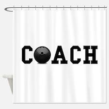 Bowling Coach Shower Curtain