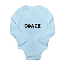 Bowling Coach Long Sleeve Infant Bodysuit