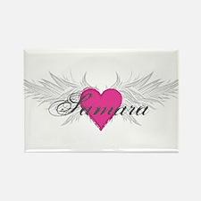 Samara-angel-wings.png Rectangle Magnet