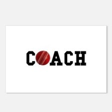 Cricket Coach Postcards (Package of 8)