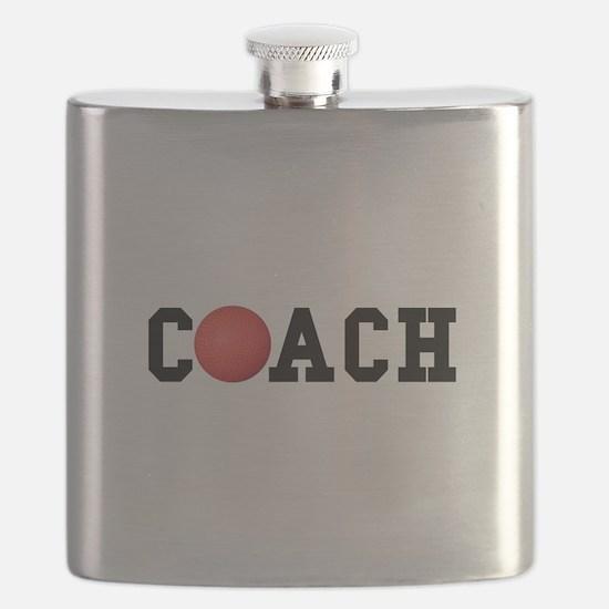 Dodge Ball Kickball Coach Flask