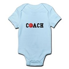 Dodge Ball Kickball Coach Infant Bodysuit