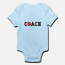Dodge Ball Kickball Coach Infant Bodysuit
