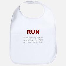 Running for Channing Tatum Bib