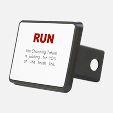 Running for Channing Tatum Hitch Cover