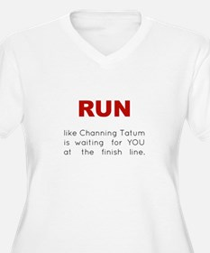 Running for Channing Tatum T-Shirt