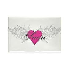 Sadie-angel-wings.png Rectangle Magnet