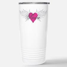 Sadie-angel-wings.png Stainless Steel Travel Mug