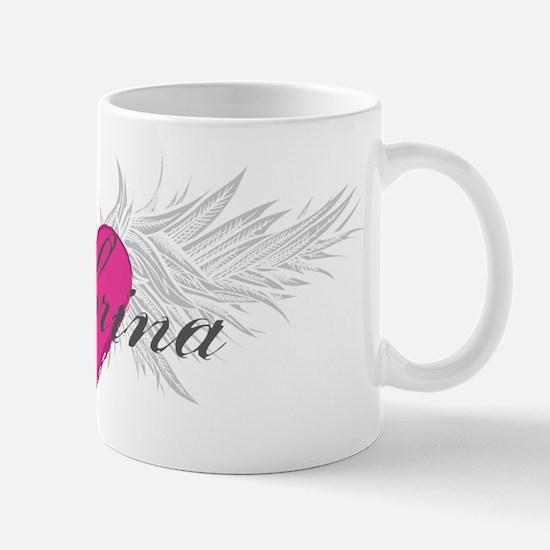 Sabrina-angel-wings.png Mug