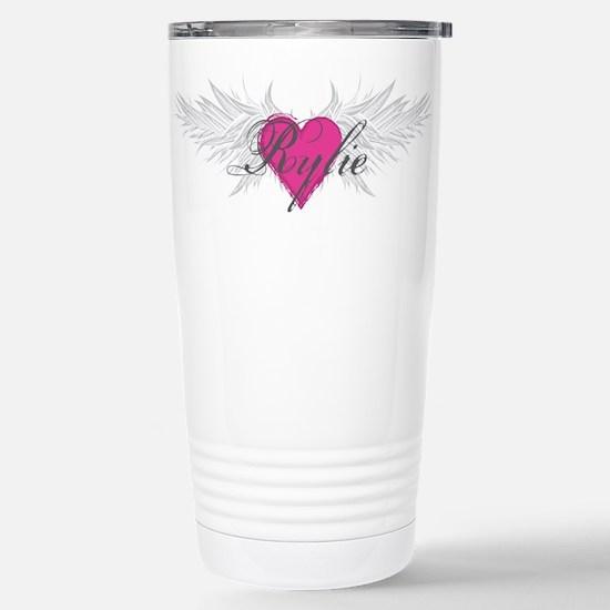 Rylie-angel-wings.png Stainless Steel Travel Mug