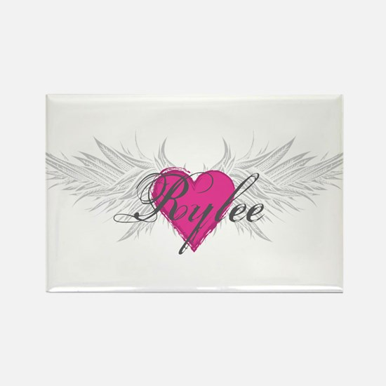 Rylee-angel-wings.png Rectangle Magnet