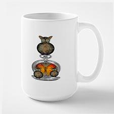 Clockwork Owl Large Mug