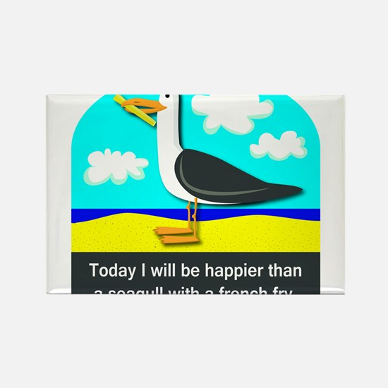 Happier than a Seagull with a French Fry Rectangle