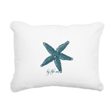By the Sea Starfish Rectangular Canvas Pillow