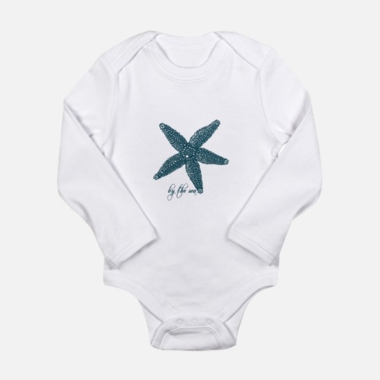 By the Sea Starfish Long Sleeve Infant Bodysuit