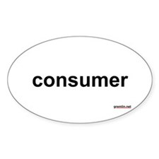consumer Oval Decal