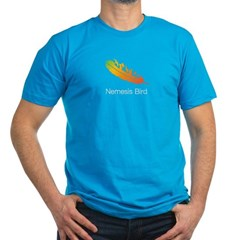 Feather Silhouette Colorful T