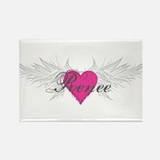 Renee-angel-wings.png Rectangle Magnet