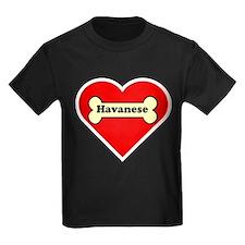 Havanese Heart T