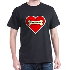 Havanese Heart T-Shirt