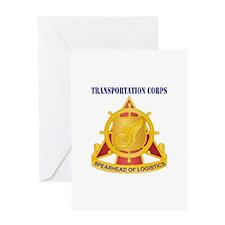 Transportation Corps Greeting Card