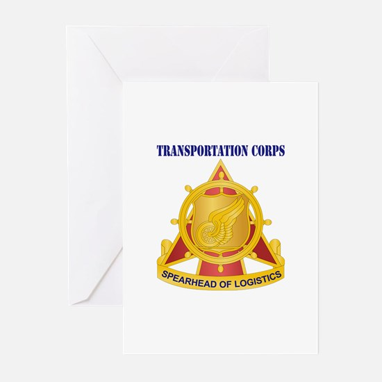 Transportation Corps Greeting Cards (Pk of 20)