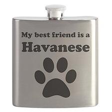 Havanese Best Friend Flask
