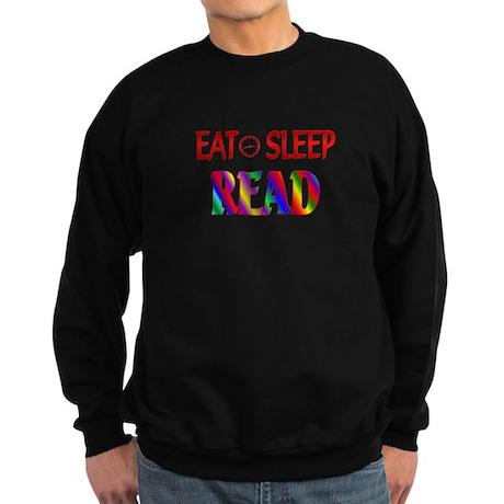 Eat Sleep Read Sweatshirt (dark)