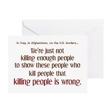 Killing Enough? Greeting Cards (Pk of 10)