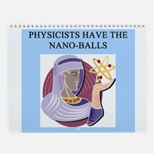 funny Physics 3 Wall Calendar