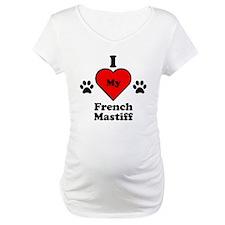 I Heart My French Mastiff Shirt