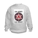 6TH ARMY Kids Sweatshirt