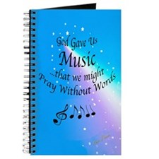 God Gave Us Music Journal
