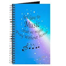 God Gave Us Music Journal
