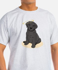 Black Labrador Retriever Angel T-Shirt