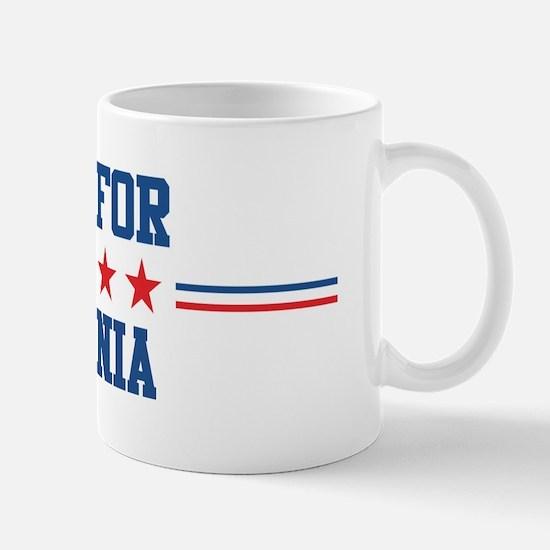 Vote for ANTONIA Mug