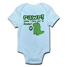 Cute! RAWR Means Love Infant Bodysuit