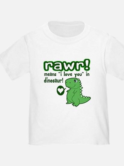 Cute! RAWR Means Love T
