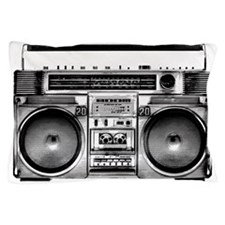 Boombox Pillow Case