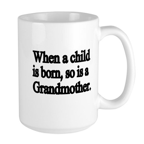 Sweet And Cute Grandmother Designs Mug By Terriblycutetees