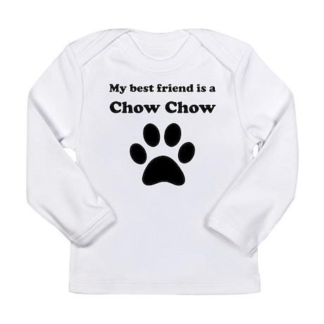 Chow Chow Best Friend Long Sleeve Infant T-Shirt