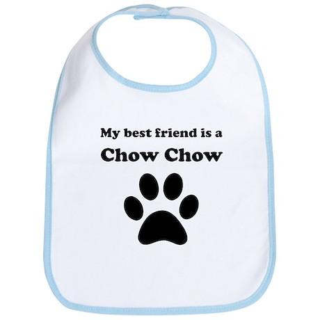 Chow Chow Best Friend Bib